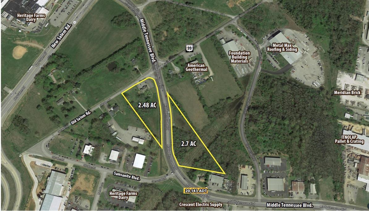 0 Middle Tennessee Blvd Property Photo - Murfreesboro, TN real estate listing