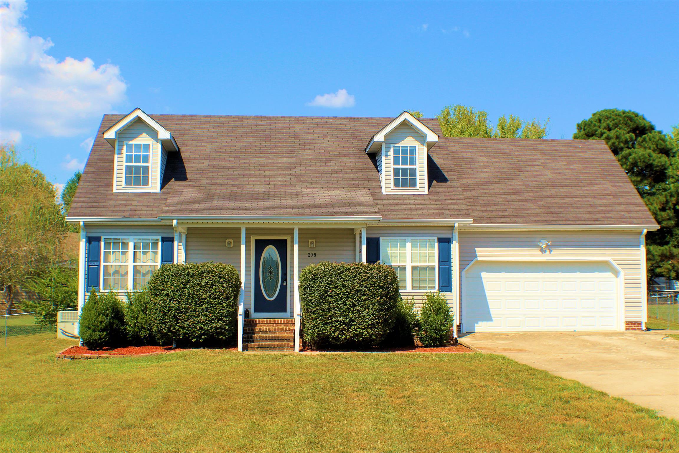 238 Williamsburg Cir, Tullahoma, TN 37388 - Tullahoma, TN real estate listing