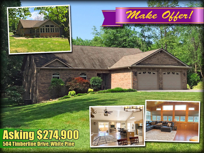 504 Timberline Drive, White Pine, TN 37890 - White Pine, TN real estate listing