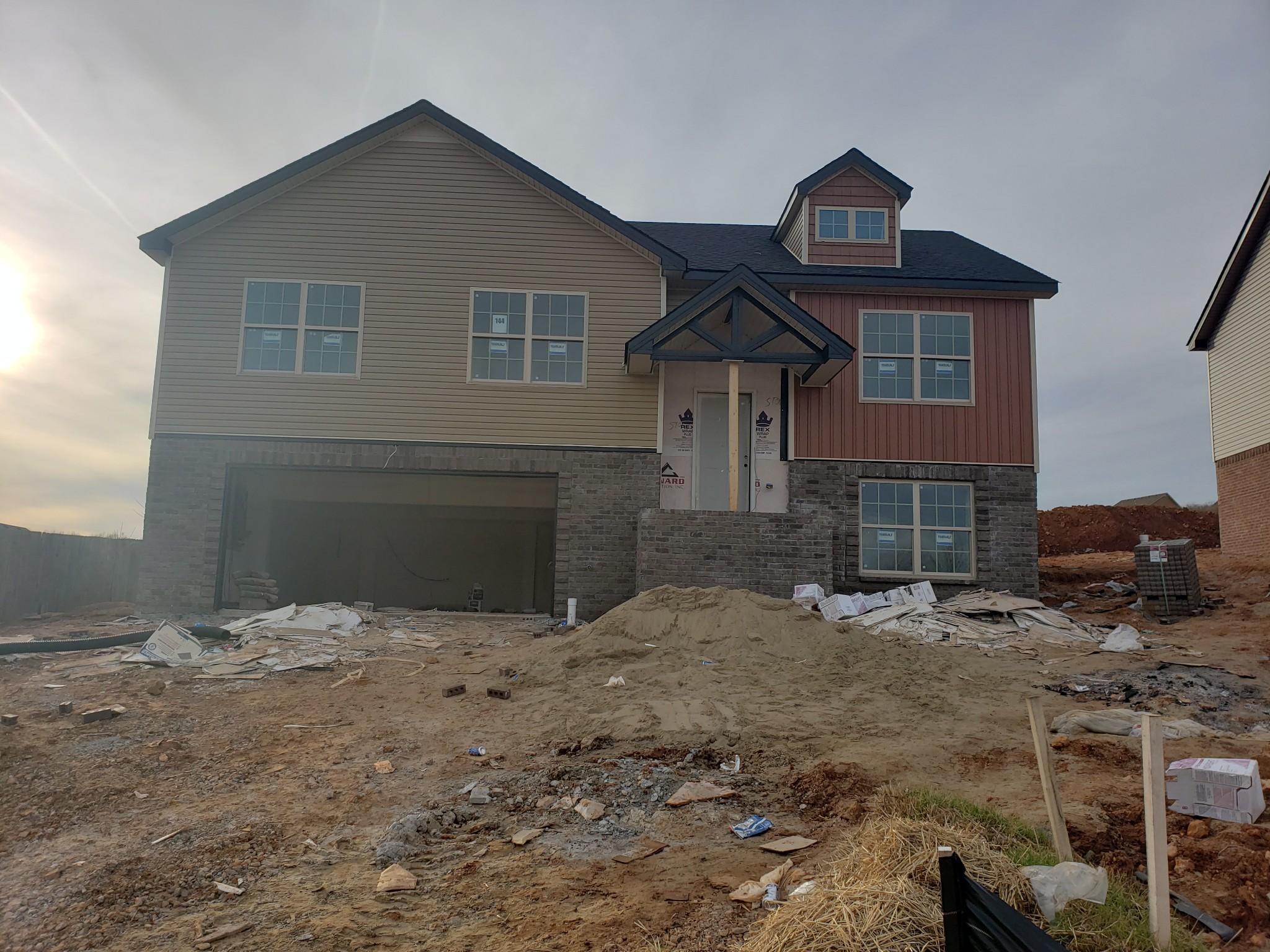 702 Banister Dr (lot 144), Clarksville, TN 37042 - Clarksville, TN real estate listing