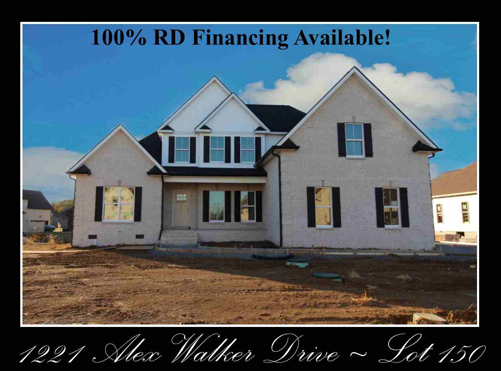 1221 Alex Walker Dr - Lot 150, Christiana, TN 37037 - Christiana, TN real estate listing