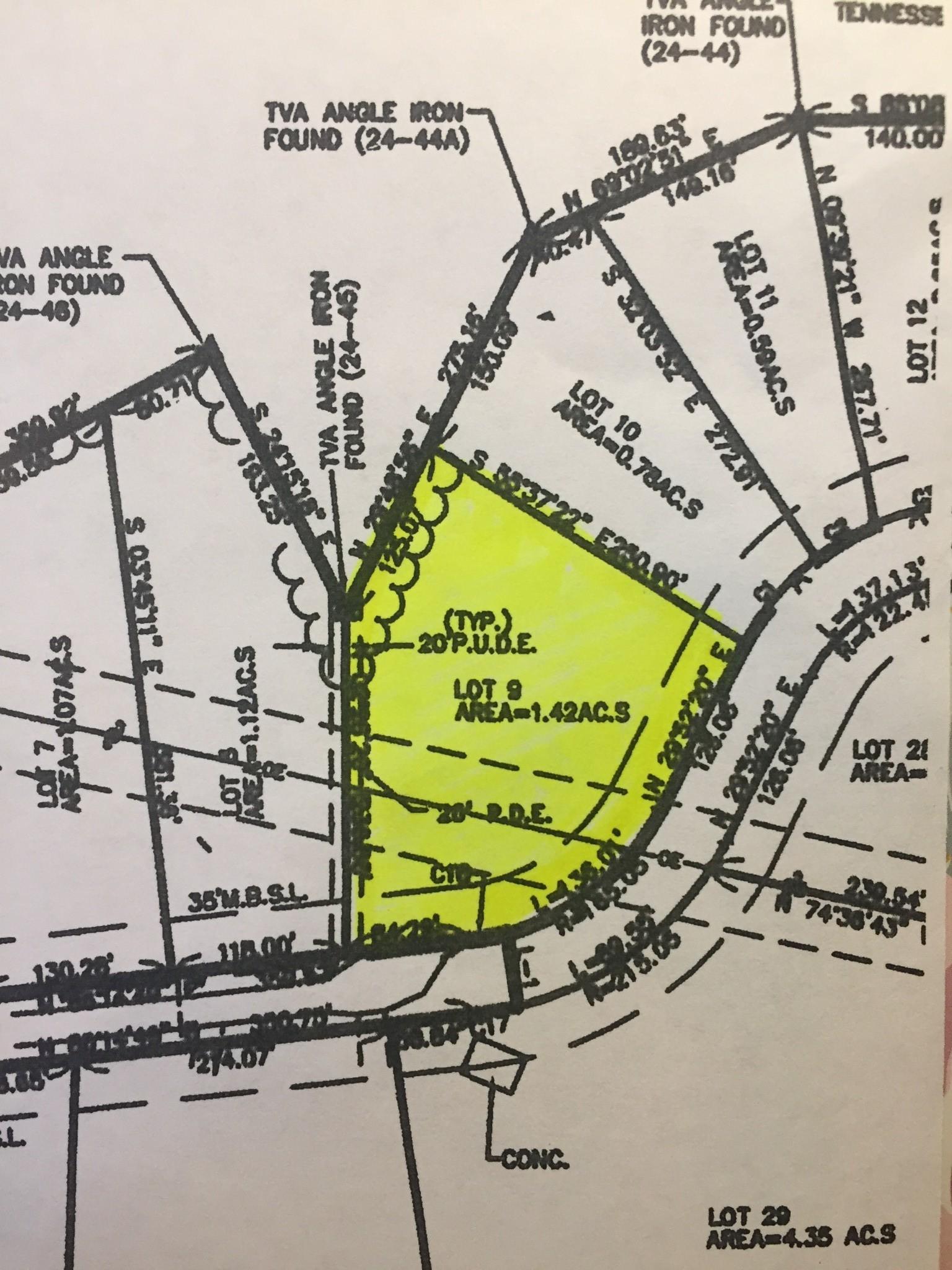 0 Honey Ln Property Photo - Estill Springs, TN real estate listing