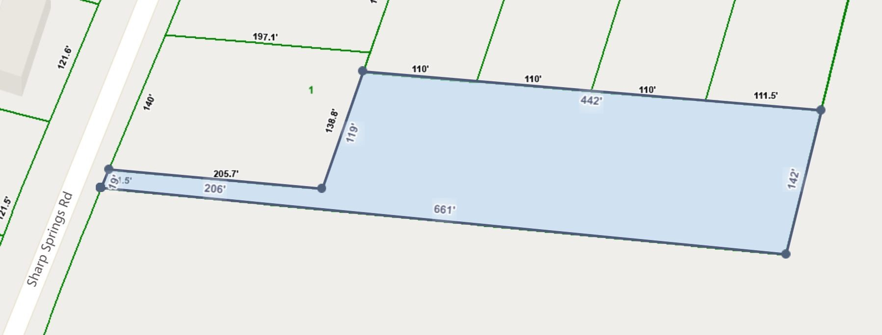 0 Sharp Springs Rd Property Photo - Decherd, TN real estate listing