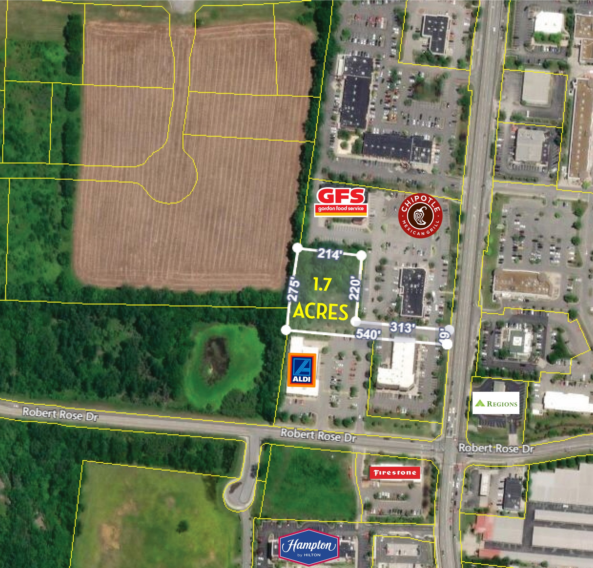 0 Thompson Lane Property Photo - Murfreesboro, TN real estate listing