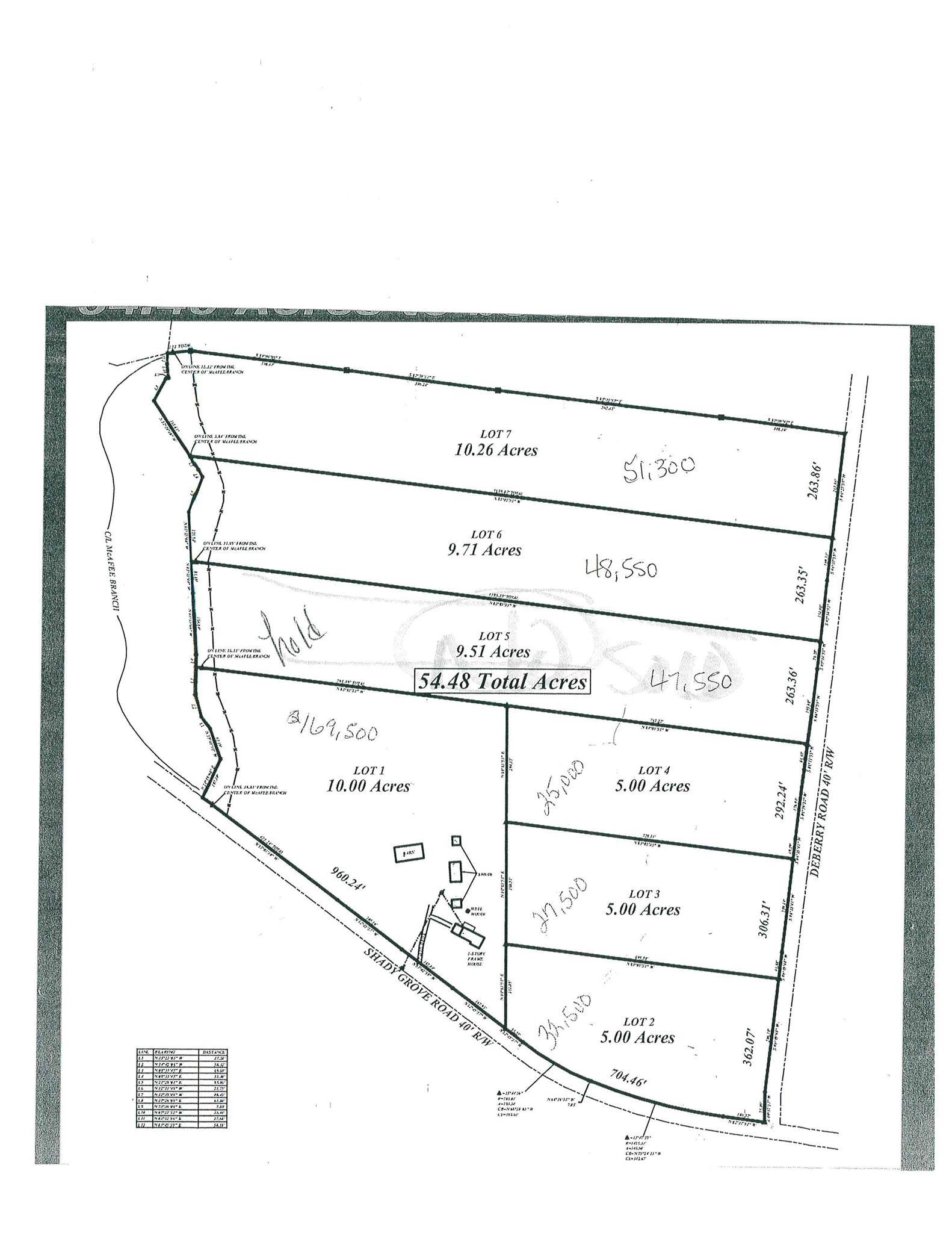 0 Deberry Road (Lot #3), Morrison, TN 37357 - Morrison, TN real estate listing