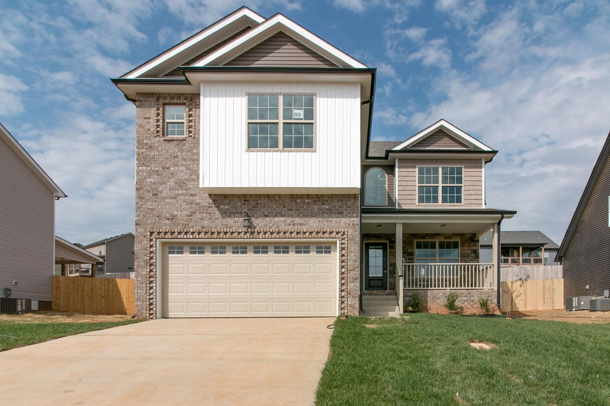 835 Crestone Ln (Lot 80), Clarksville, TN 37042 - Clarksville, TN real estate listing