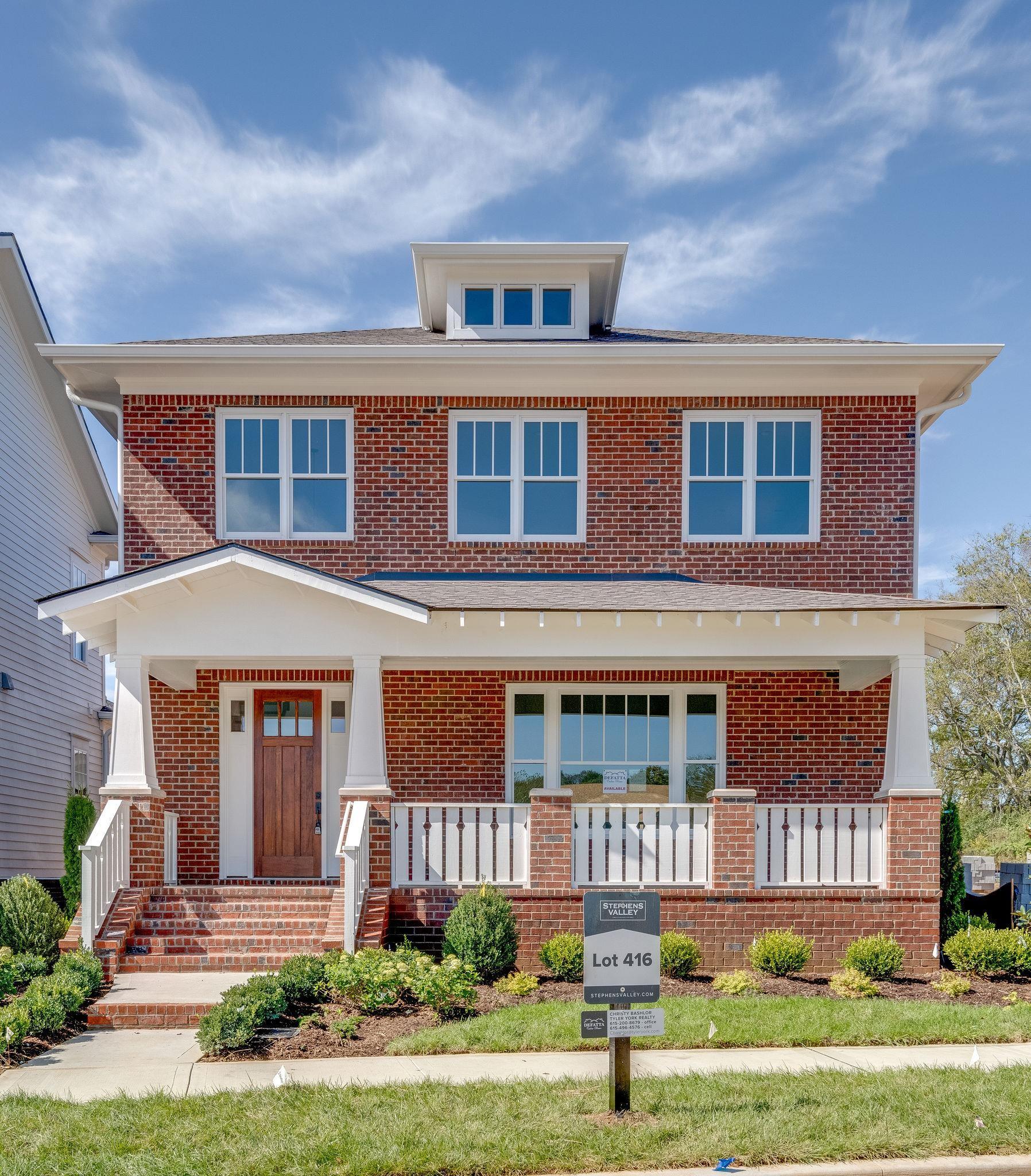 921 Dauphine Street- Lot 416, Nashville, TN 37221 - Nashville, TN real estate listing