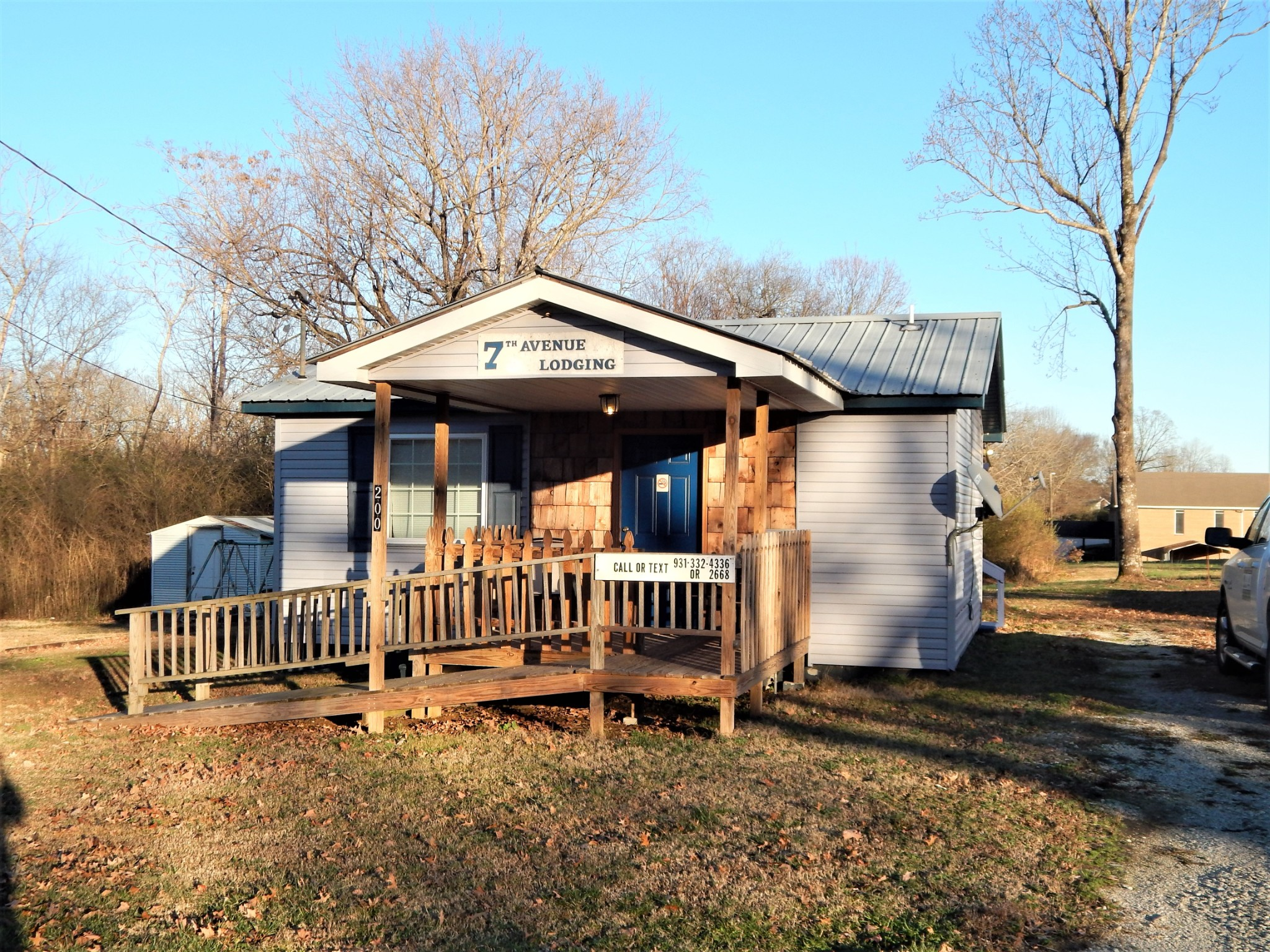 200 N. Seventh Ave Property Photo - Collinwood, TN real estate listing