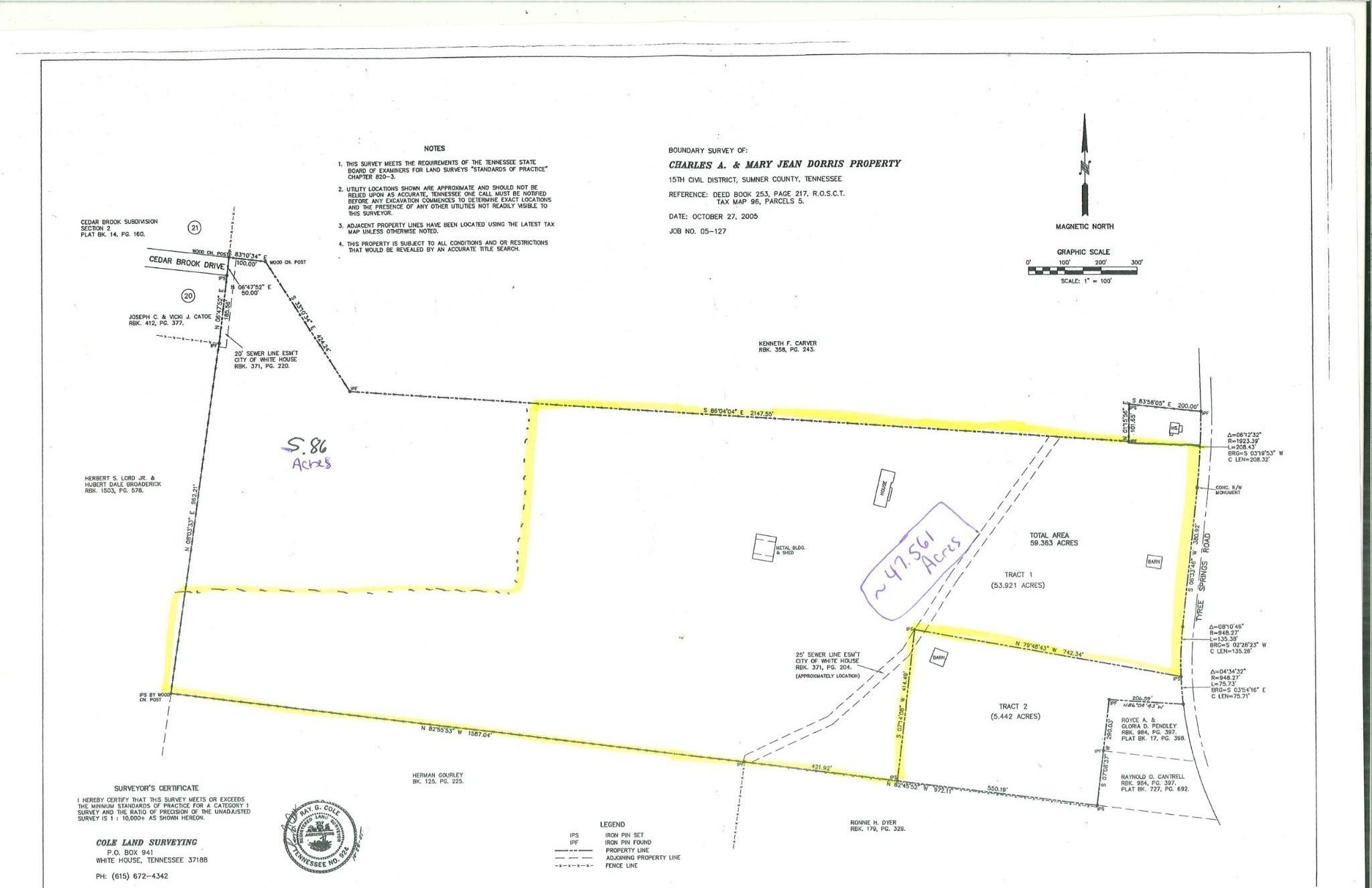 629 Tyree Springs Rd, White House, TN 37188 - White House, TN real estate listing