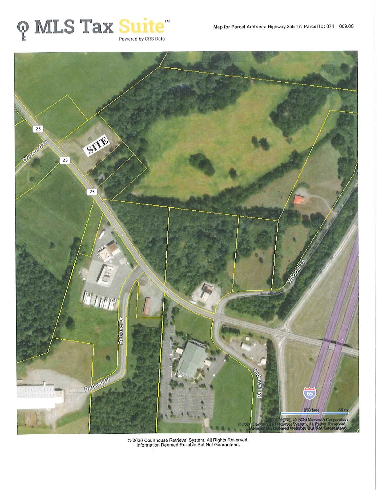 0 Highway 25 Property Photo - Cross Plains, TN real estate listing