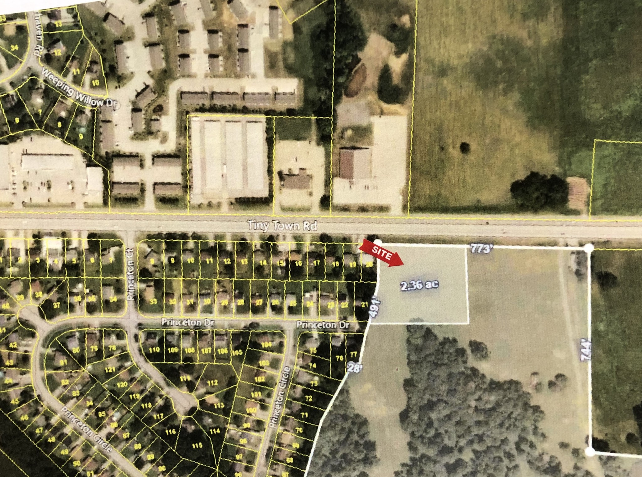 0 Tiny Town Rd Property Photo - Clarksville, TN real estate listing