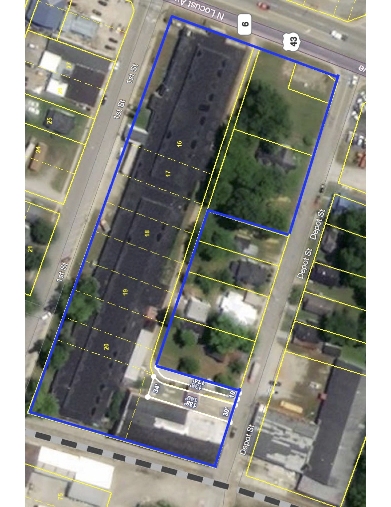 0 First Street Property Photo - Lawrenceburg, TN real estate listing