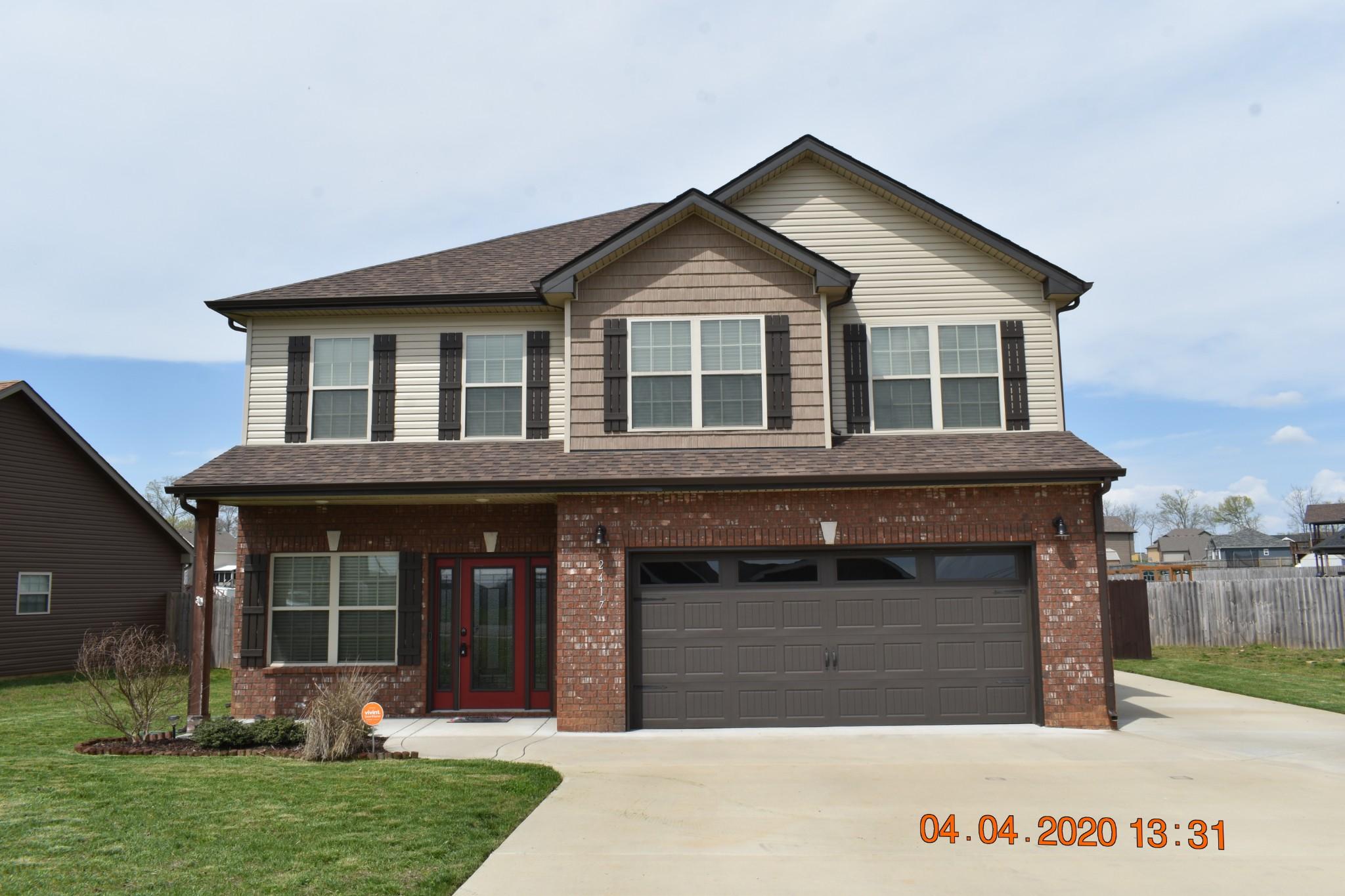 2417 Andersonville Dr, Clarksville, TN 37042 - Clarksville, TN real estate listing