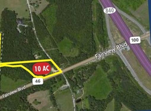 0 Hwy 100/Spencer Mill Rd Property Photo - Fairview, TN real estate listing