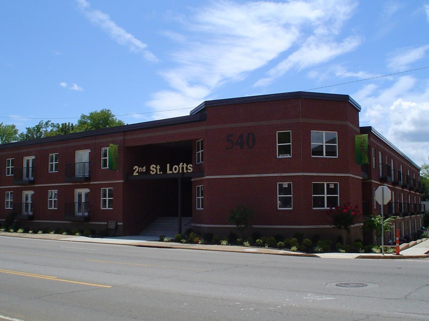540 N. 2nd St. Lofts #302 Property Photo - Clarksville, TN real estate listing