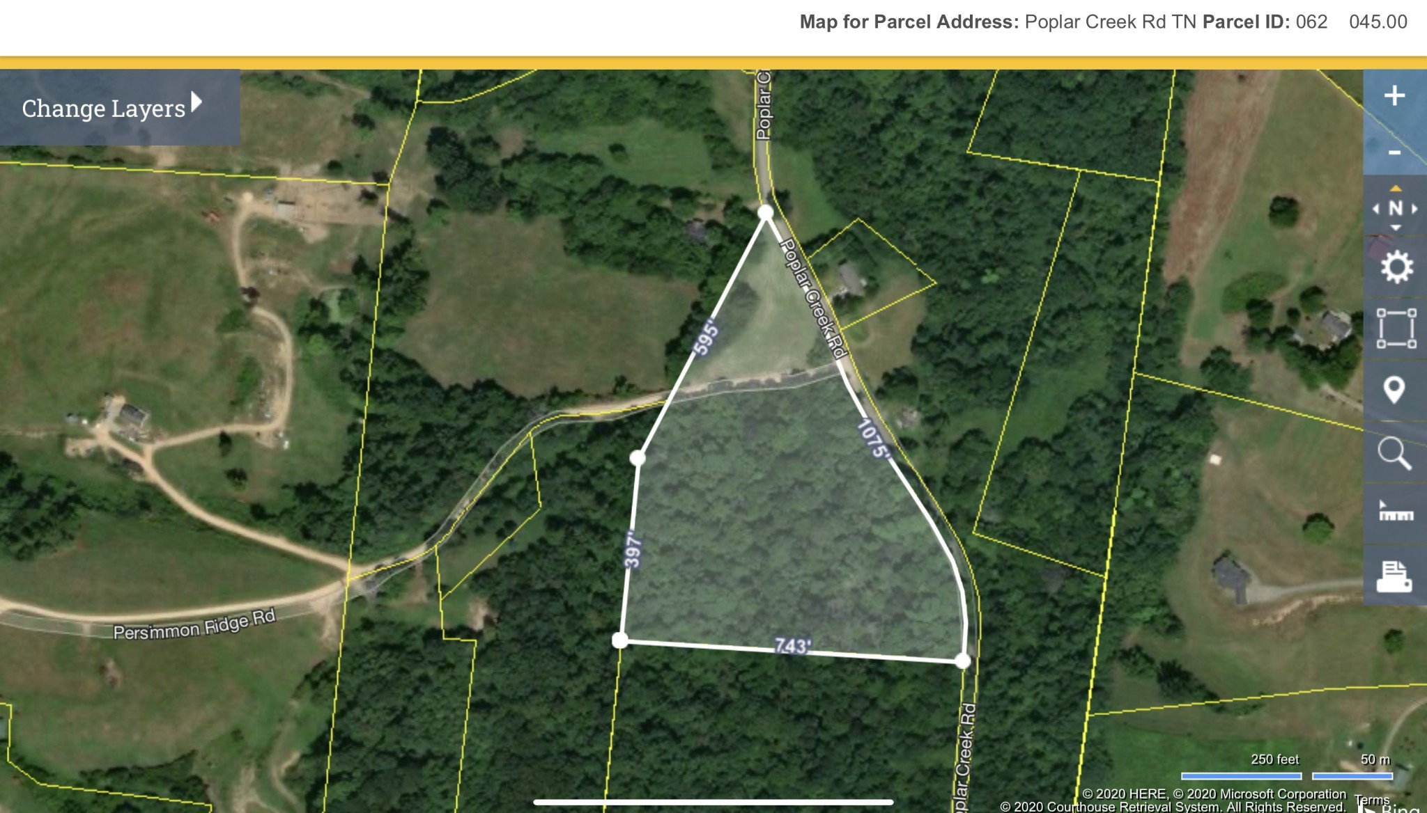 0 Poplar Creek Rd. Property Photo - Williamsport, TN real estate listing