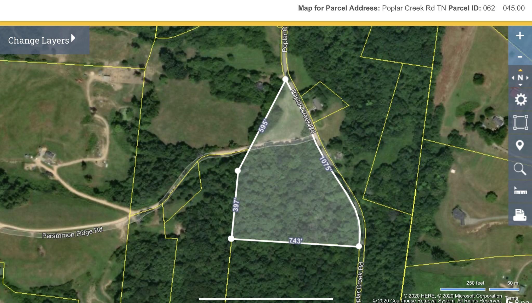 0 Poplar Creek Rd. Property Photo - Williamsport, TN real estate listing