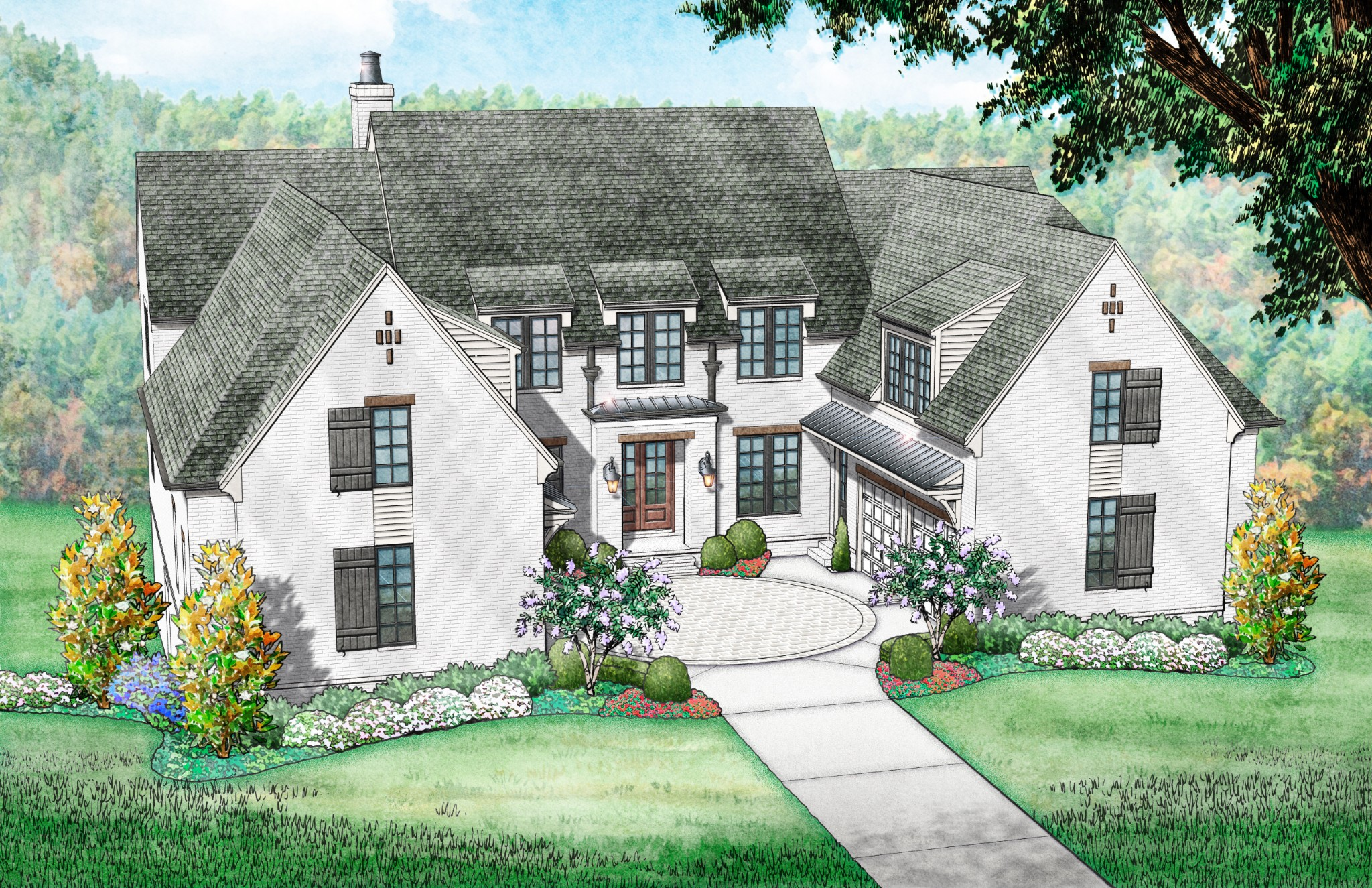 8527 Heirloom Blvd (Lot 7006) Property Photo - College Grove, TN real estate listing
