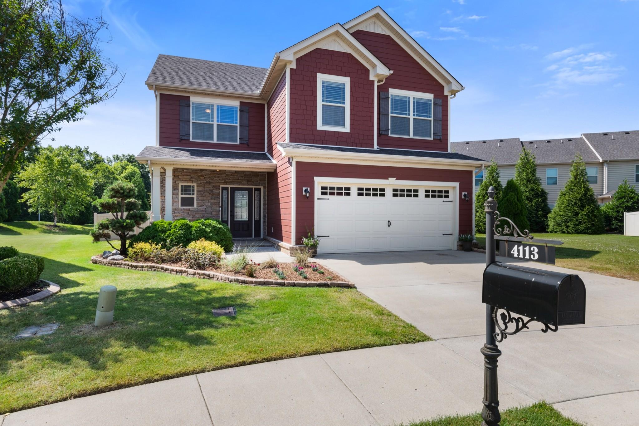 4113 Maximillion Cir Property Photo - Murfreesboro, TN real estate listing