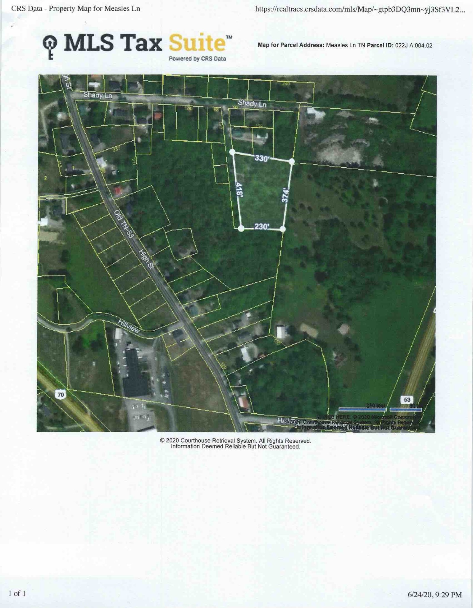 0 Measels Ln Property Photo - Alexandria, TN real estate listing