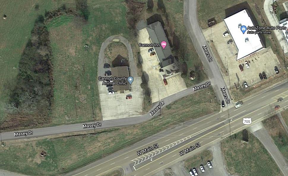 930 Main St W Property Photo - Woodbury, TN real estate listing