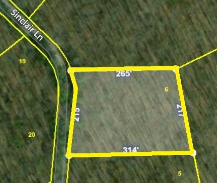 0 Sinclair Lane Property Photo - Crossville, TN real estate listing