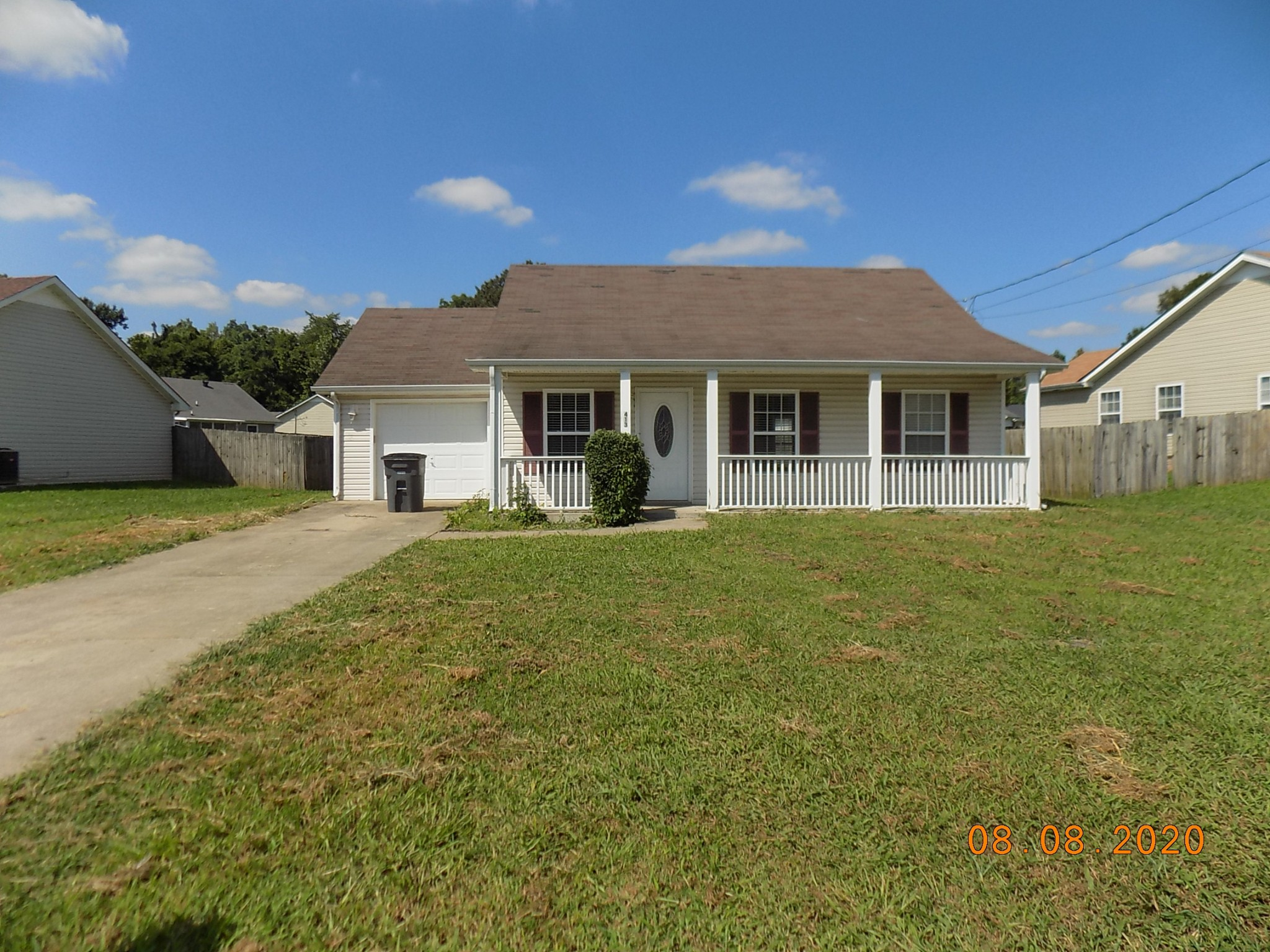 413 Faulkner Dr Property Photo - Clarksville, TN real estate listing