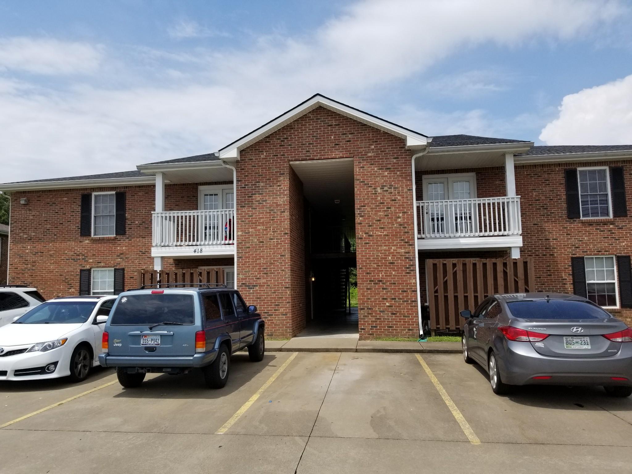 418 Jack Miller Blvd #H Property Photo - Clarksville, TN real estate listing