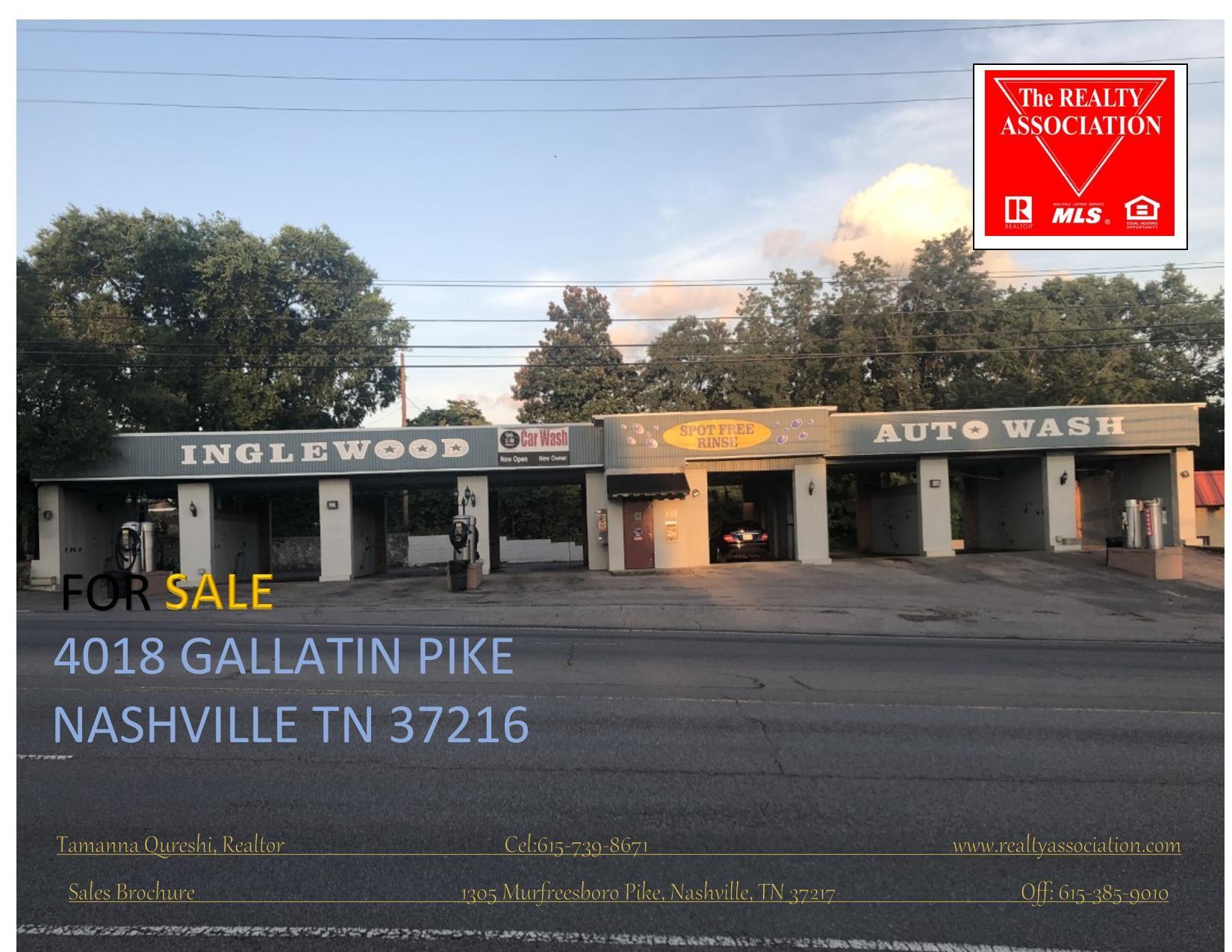 4018 Gallatin Pike Property Photo - Nashville, TN real estate listing