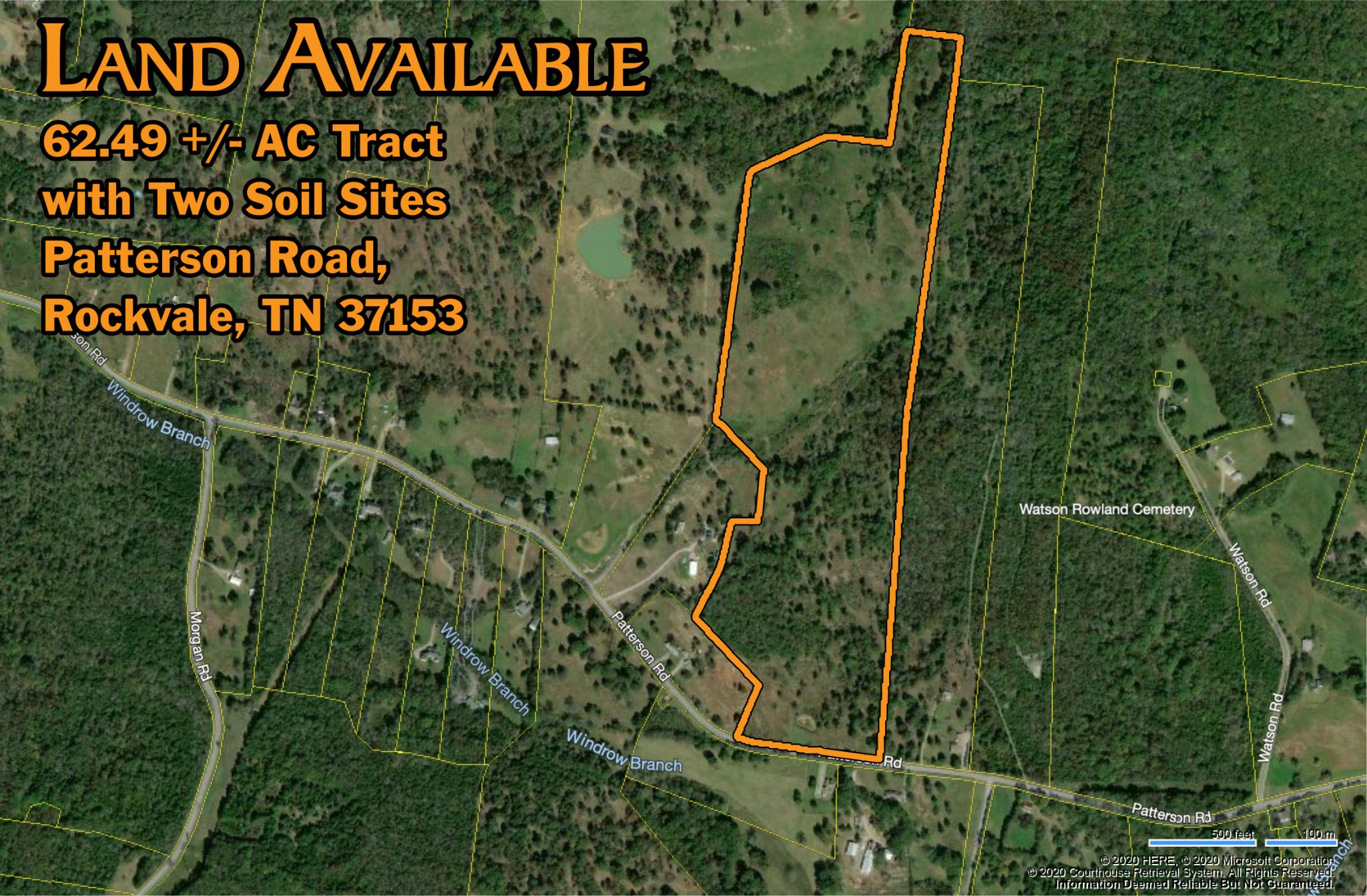 0 Patterson Rd Property Photo - Rockvale, TN real estate listing