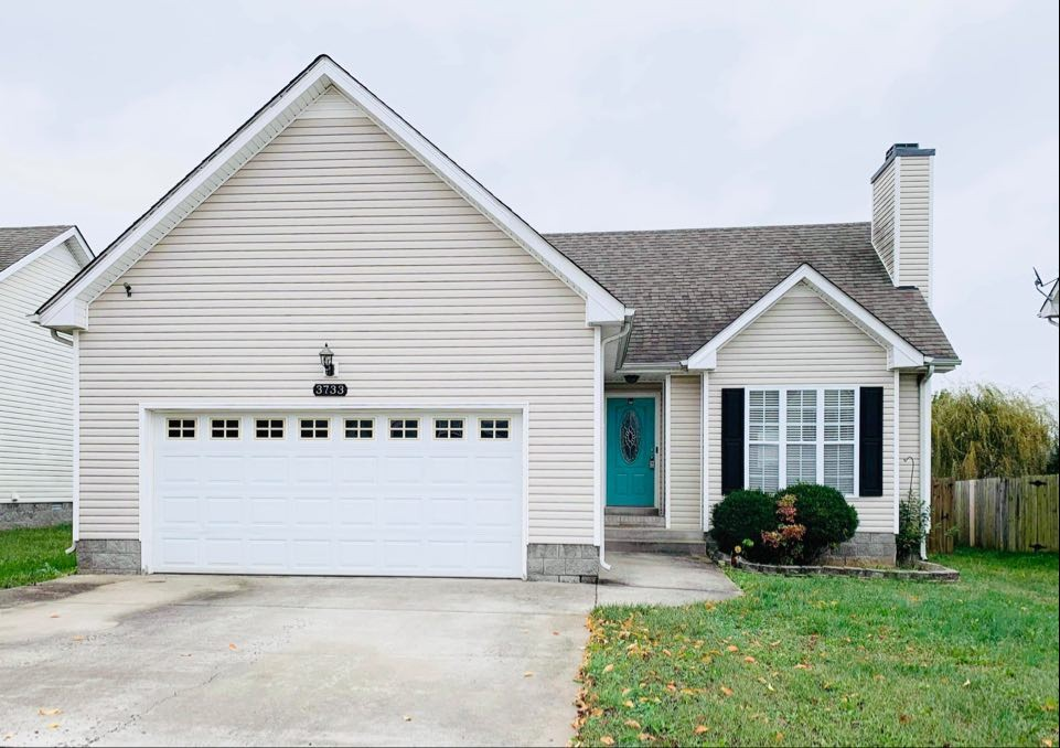 3733 Nadia Dr Property Photo - Clarksville, TN real estate listing
