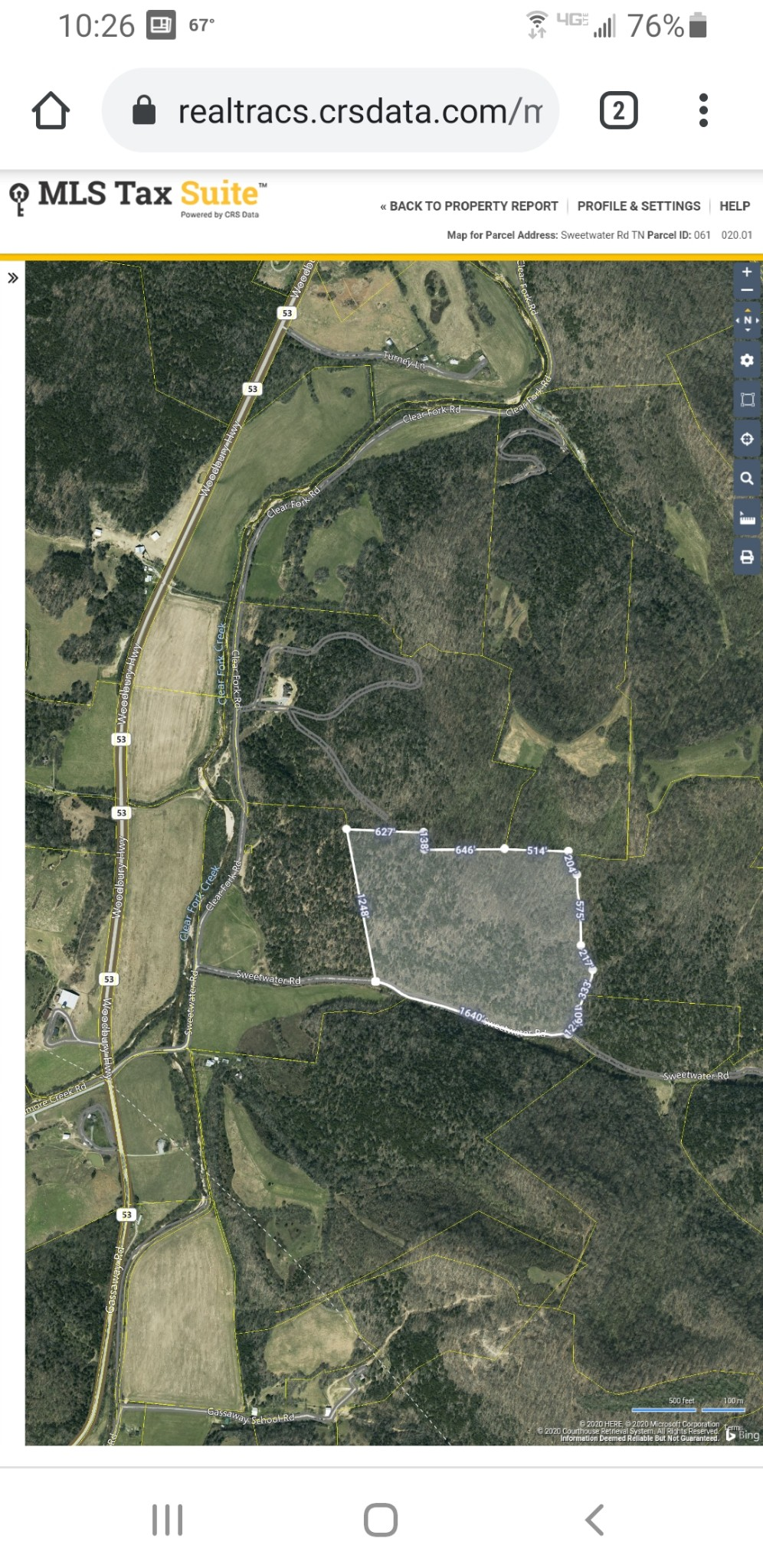 0 Sweetwater Rd Property Photo - Liberty, TN real estate listing