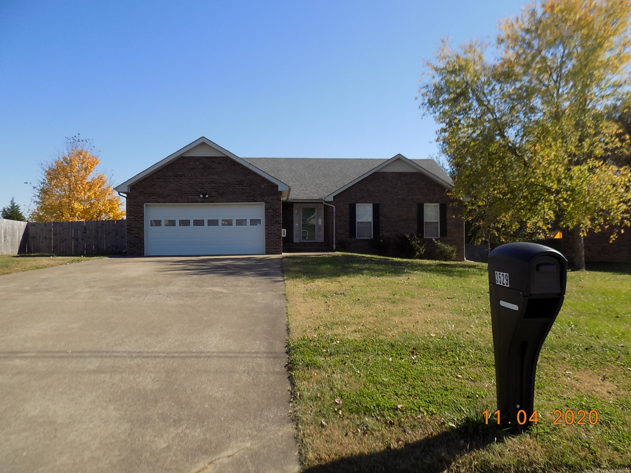 3529 Canvas Back Dr Property Photo - Clarksville, TN real estate listing