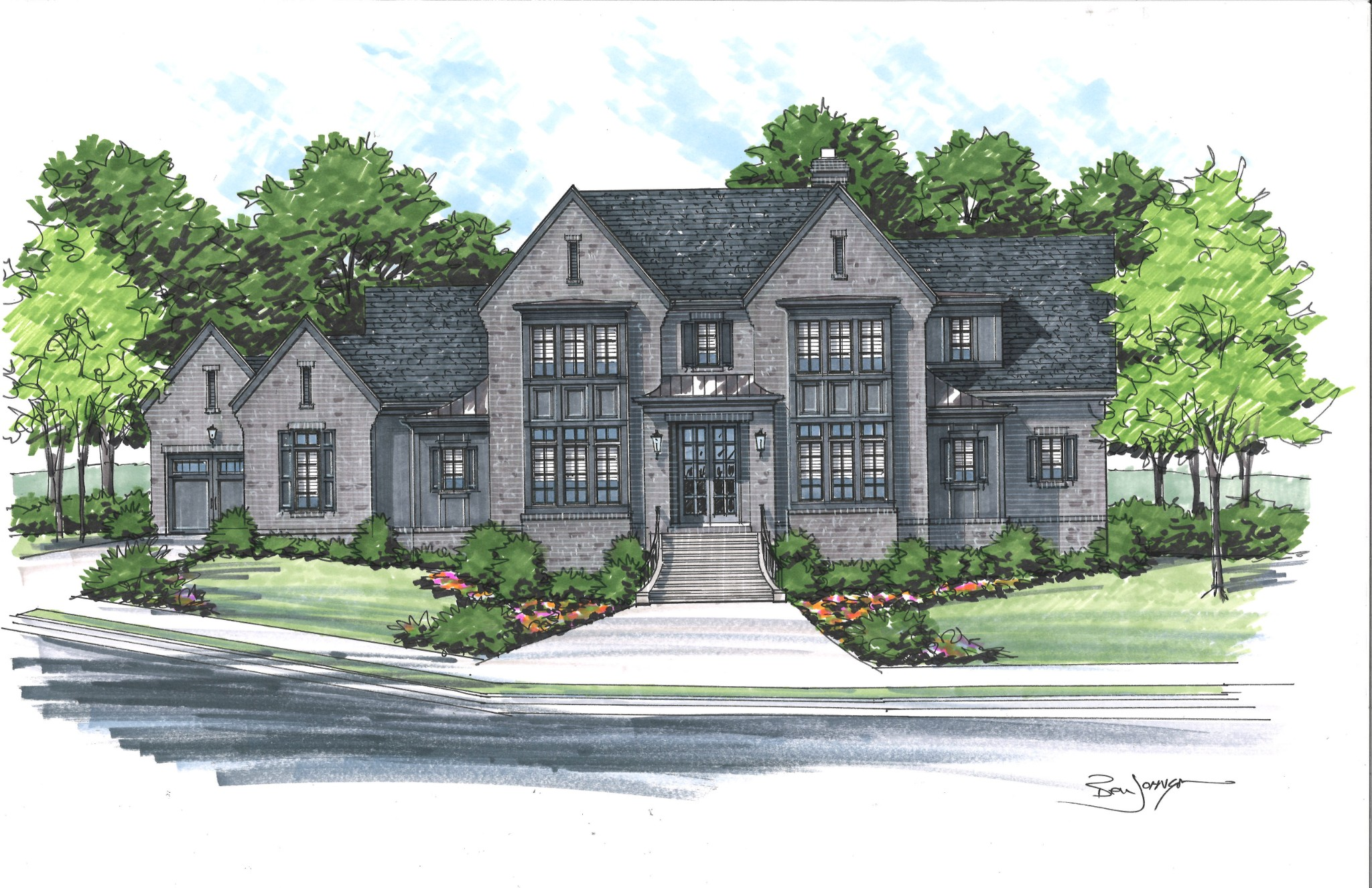 8135 Heirloom Blvd (Lot 11017) Property Photo - College Grove, TN real estate listing