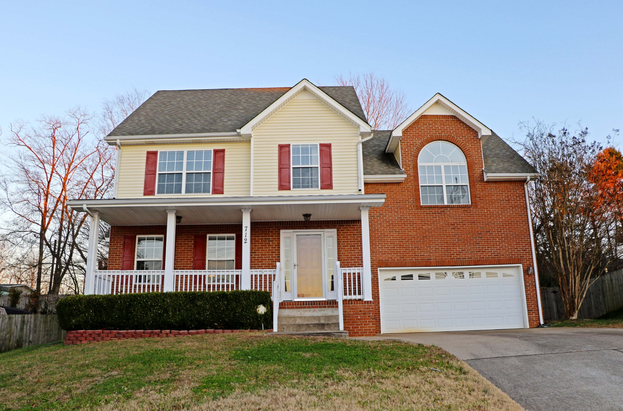 712 Winding Bluff Way Property Photo - Clarksville, TN real estate listing