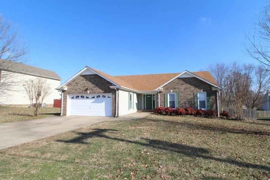 2453 Widgeon Drive Property Photo - Clarksville, TN real estate listing