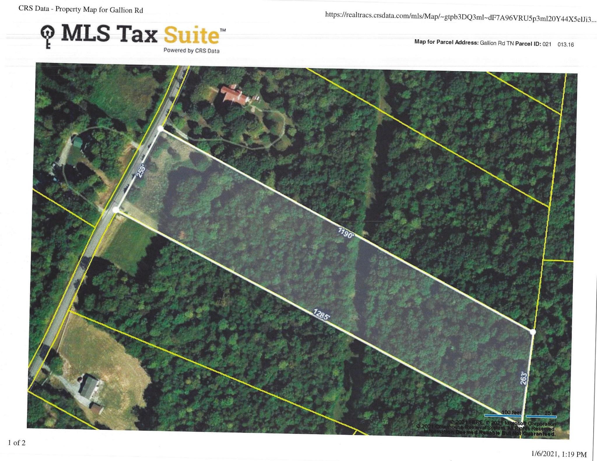 0 Gallion Road Property Photo - Cumberland Furnace, TN real estate listing