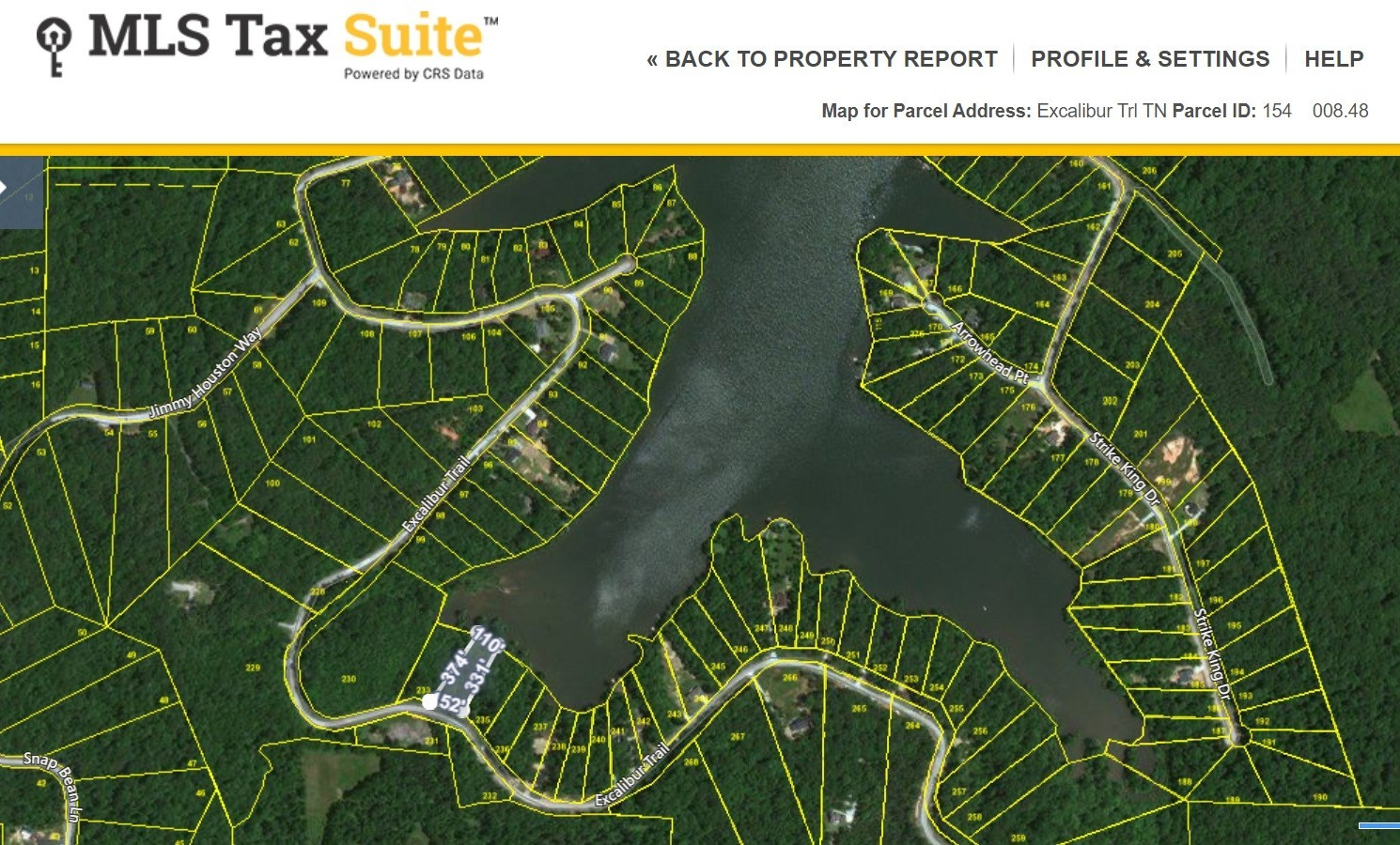 0 Excalibur Trl Property Photo - Cedar Grove, TN real estate listing