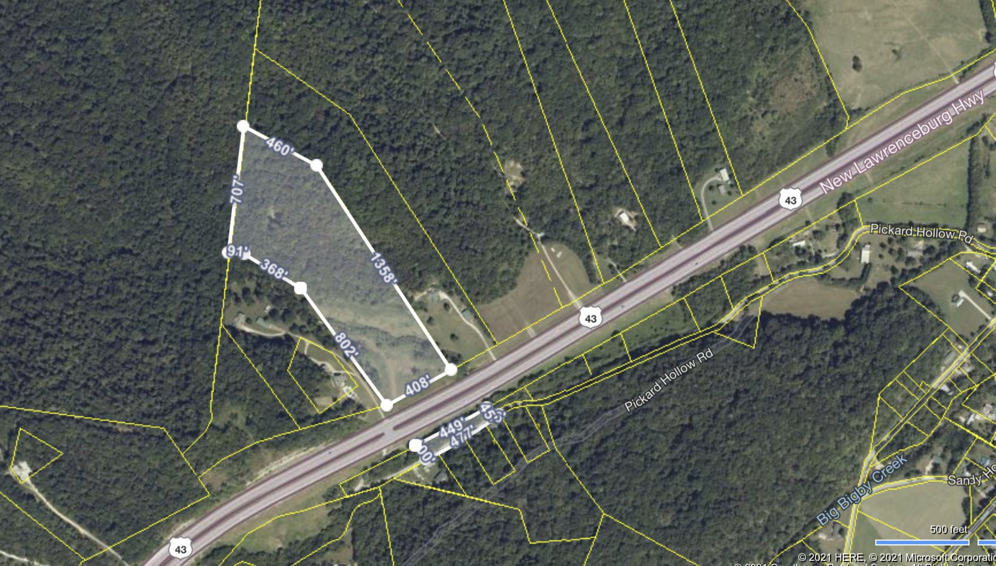0 New Lawrenceburg Hwy Property Photo - Mount Pleasant, TN real estate listing