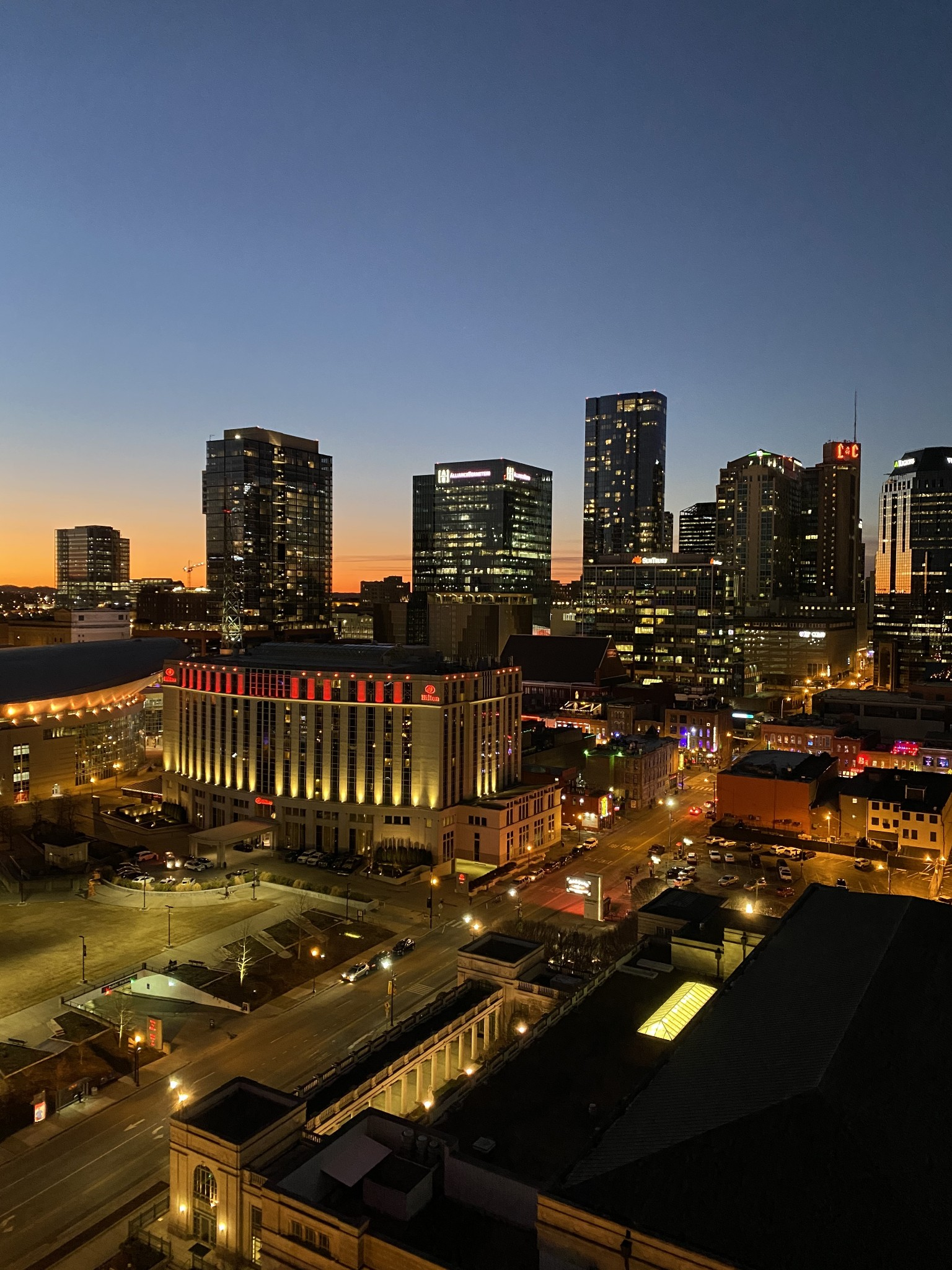 301 Demonbreun St #1702 Property Photo - Nashville, TN real estate listing