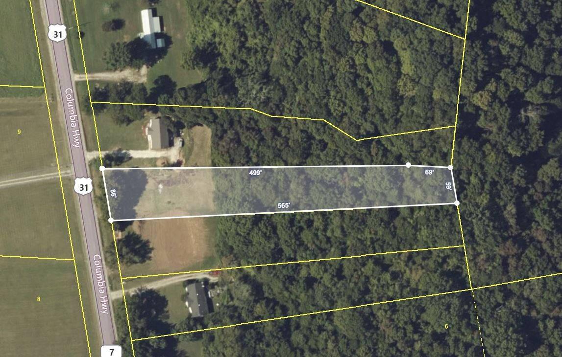 0 Columbia Hwy Property Photo - Lynnville, TN real estate listing