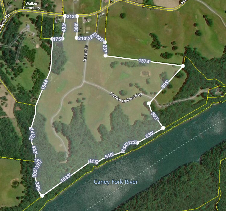 0 Allen Bend Rd. Property Photo - Smithville, TN real estate listing
