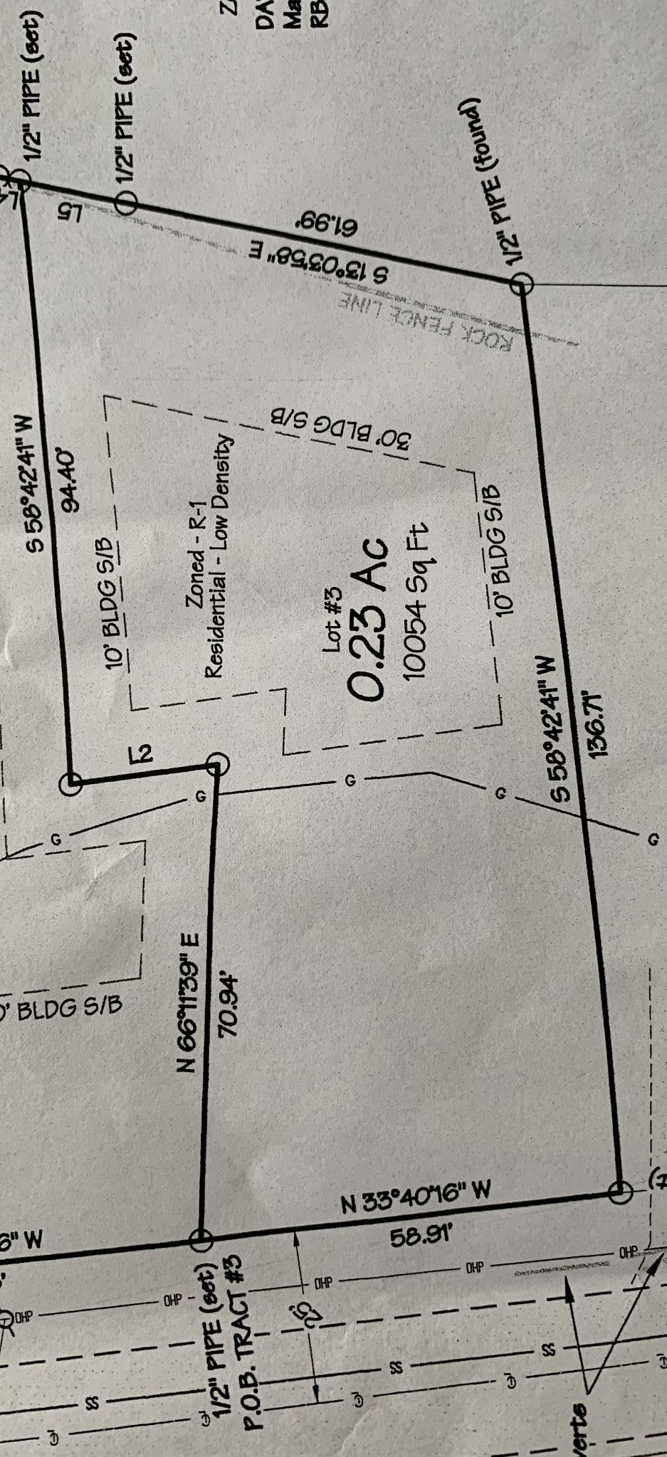 231 High Steet - Lot 3 Property Photo - Alexandria, TN real estate listing
