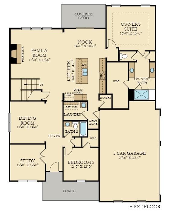 3041 Pomoa Place Property Photo - Murfreesboro, TN real estate listing