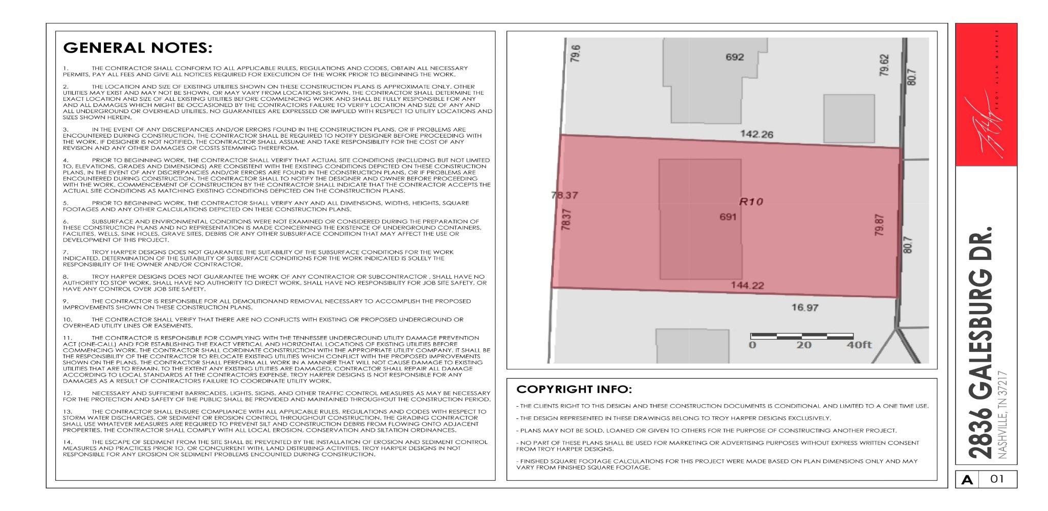 2836 Galesburg Dr Property Photo - Nashville, TN real estate listing