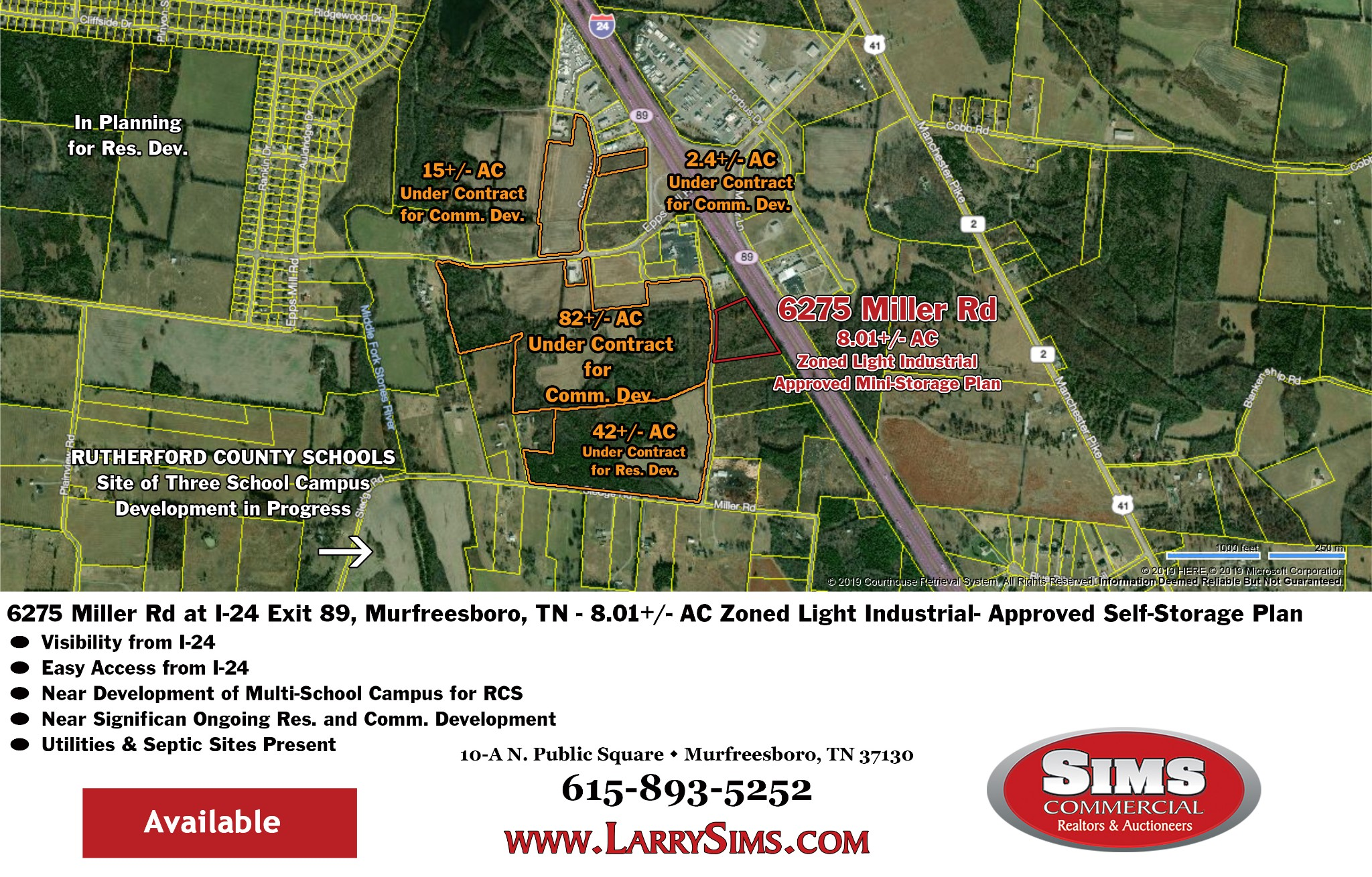 6275 Miller Rd Property Photo - Christiana, TN real estate listing