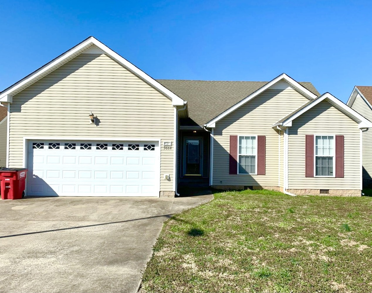 3668 Cindy Jo Dr S Property Photo - Clarksville, TN real estate listing