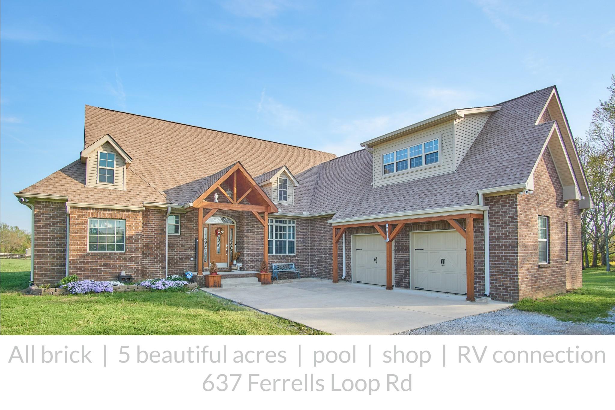 637 Ferrells Loop Rd Property Photo - Beechgrove, TN real estate listing
