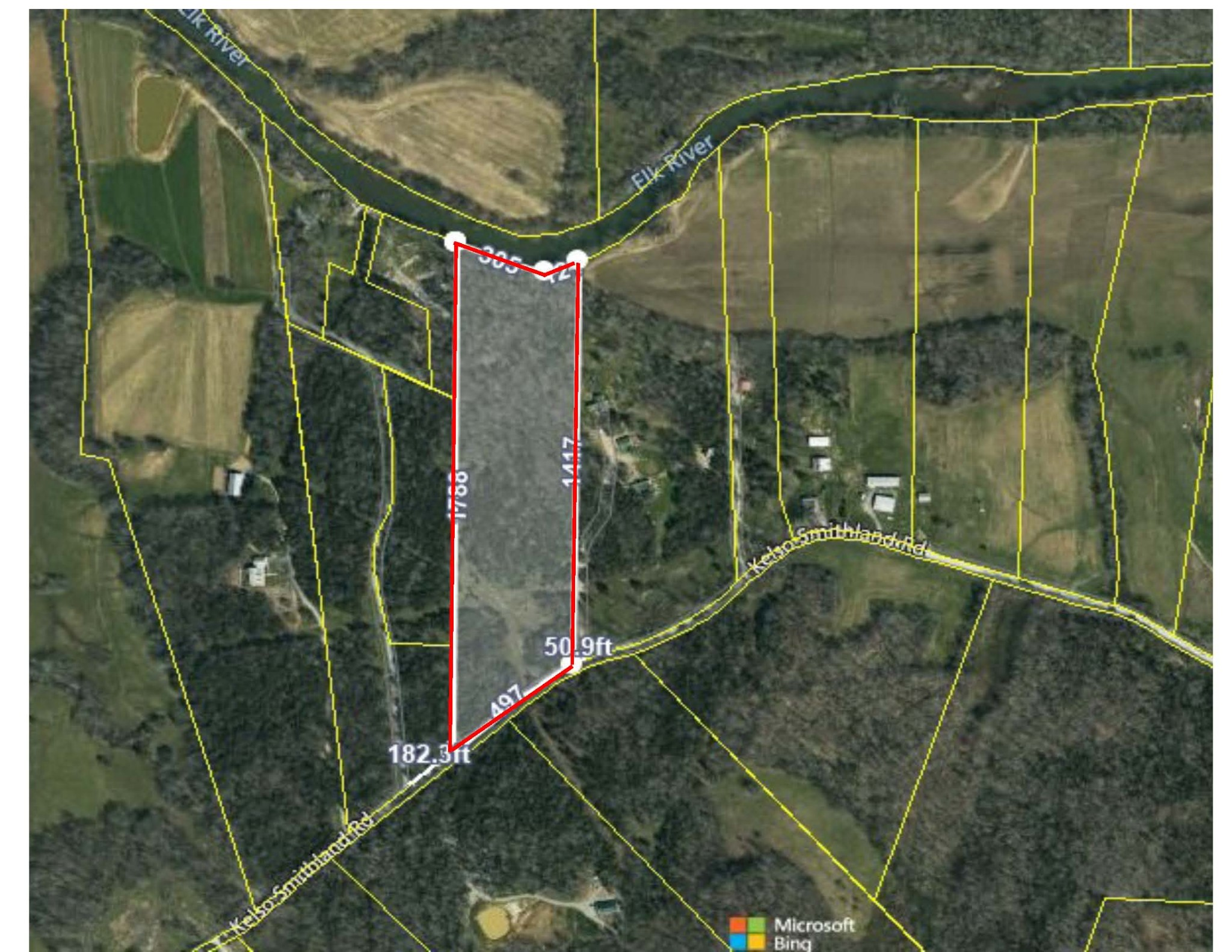 0 Kelso Smithland Rd Property Photo - Kelso, TN real estate listing