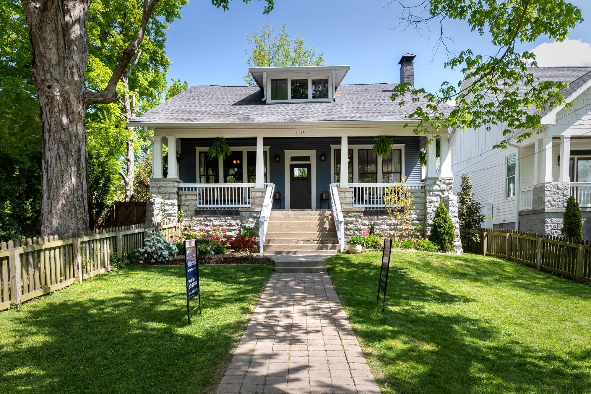 1113 Greenwood Ave Property Photo - Nashville, TN real estate listing